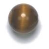 Semi-Precious 10mm Round Tiger Eye Brown